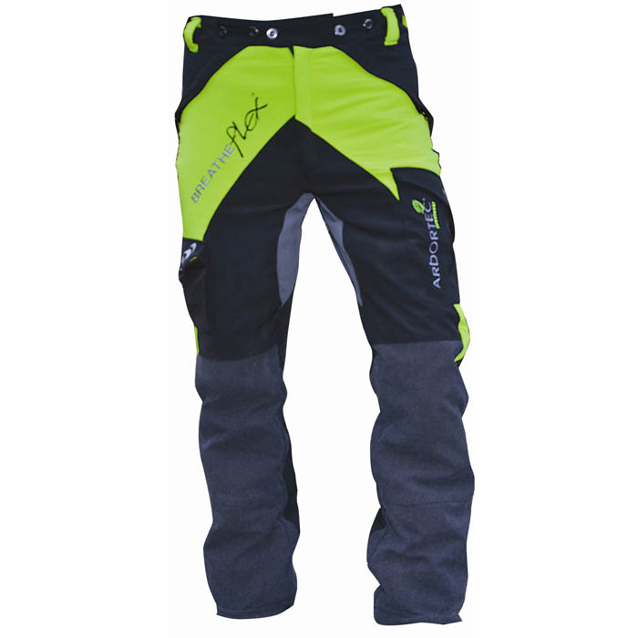 503a58cd92f Arbortec Breatheflex Lime Type C Chainsaw Trousers