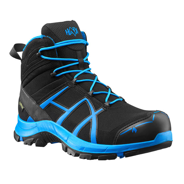 06218e9cc77 Haix Black Eagle Safety 40 Mid Black/Blue