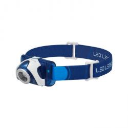 LED Lenser SE07 Blue Head Torch